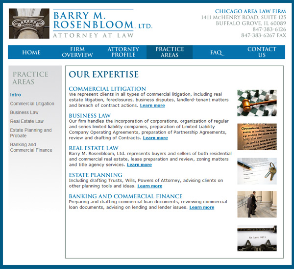 Barry Rosenbloom, Attorney at Law